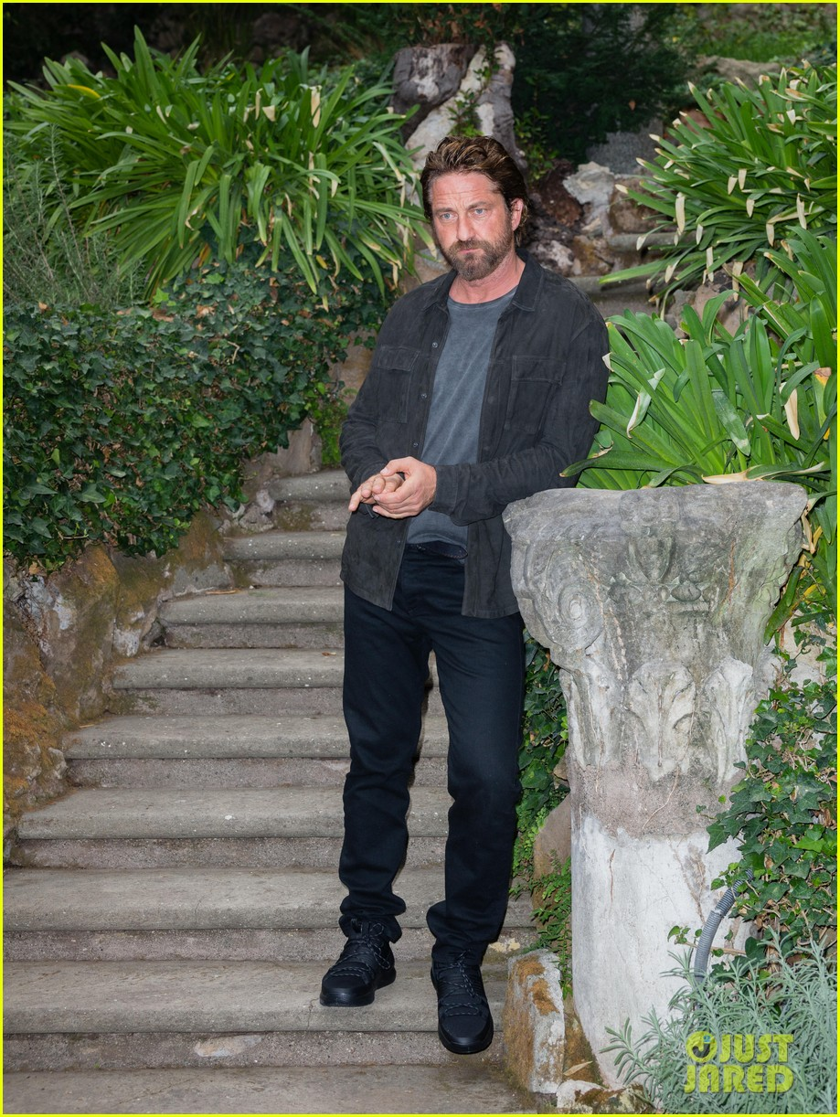 gerard butler rome photo call geostorm 223976288