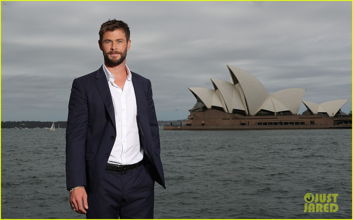 chris hemsworth thor photo call australia 093973407