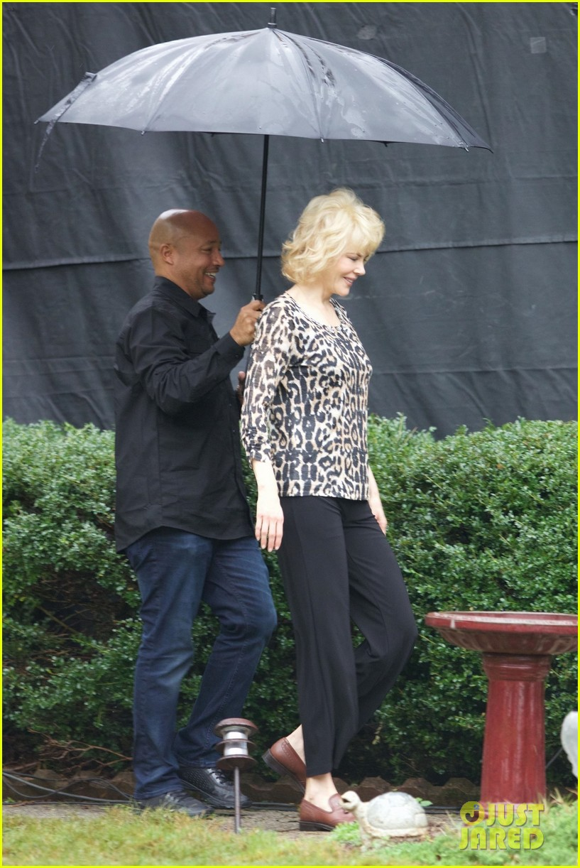 russell crowe sports fuller figure on set with nicole kidman 013970624