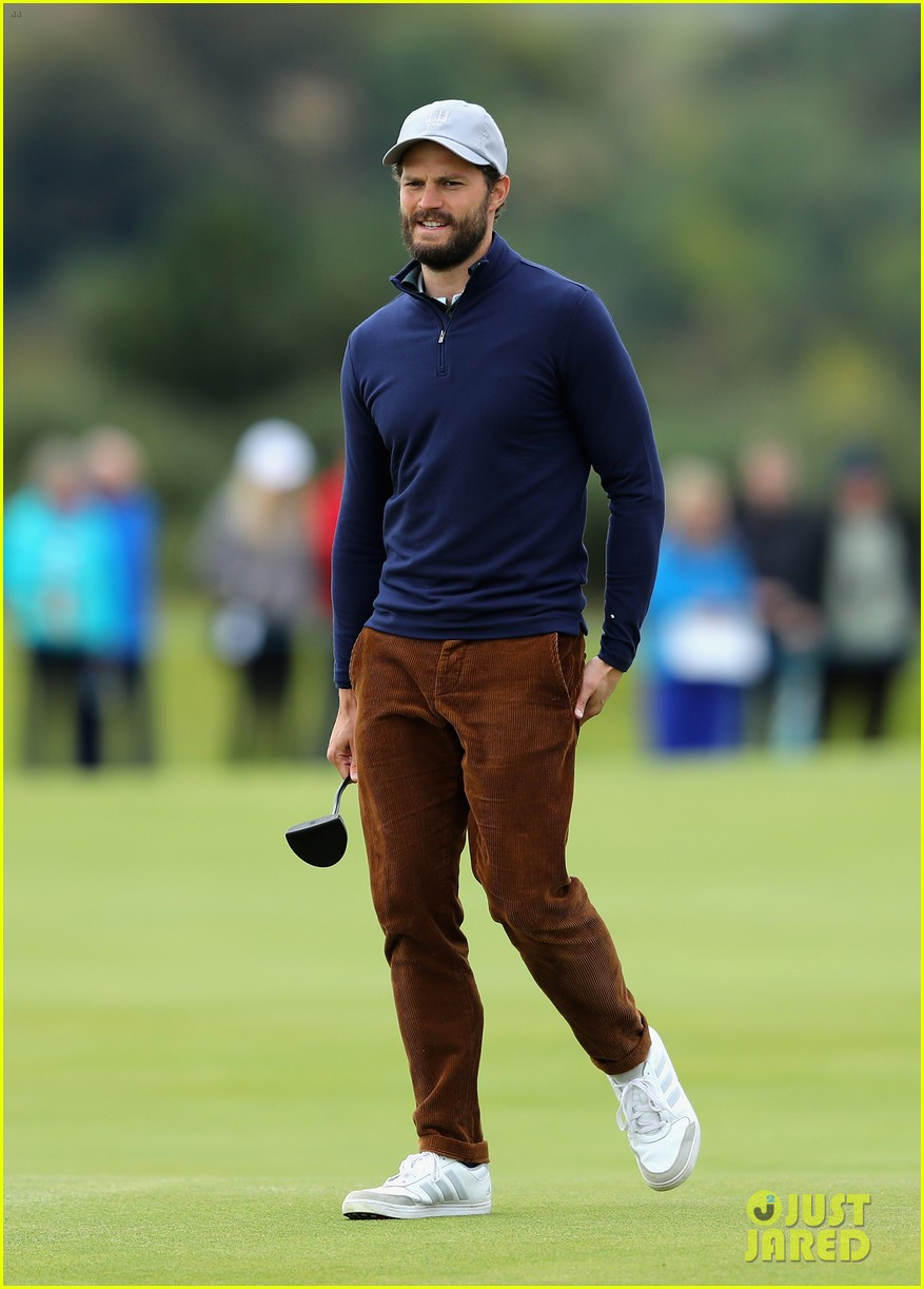 jamie dornan golfing scotland 083969616