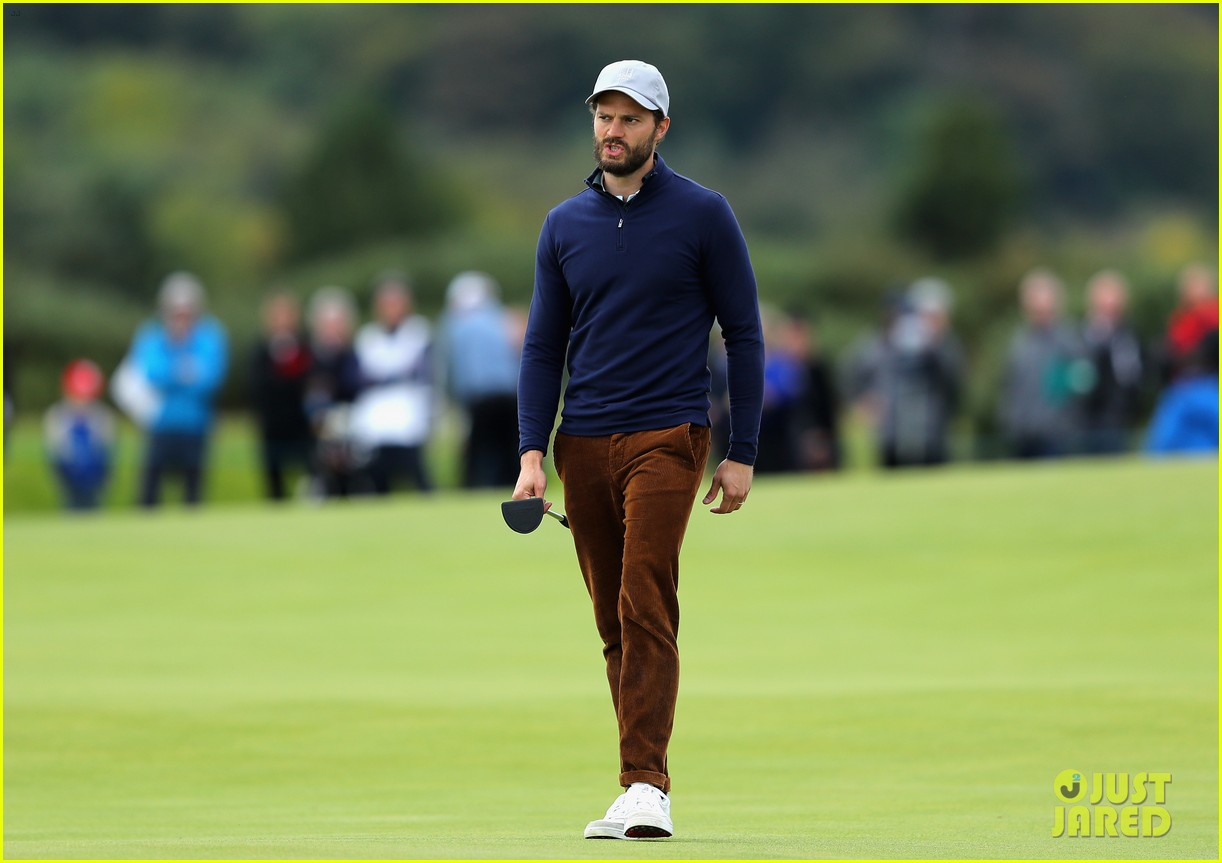 jamie dornan golfing scotland 093969617