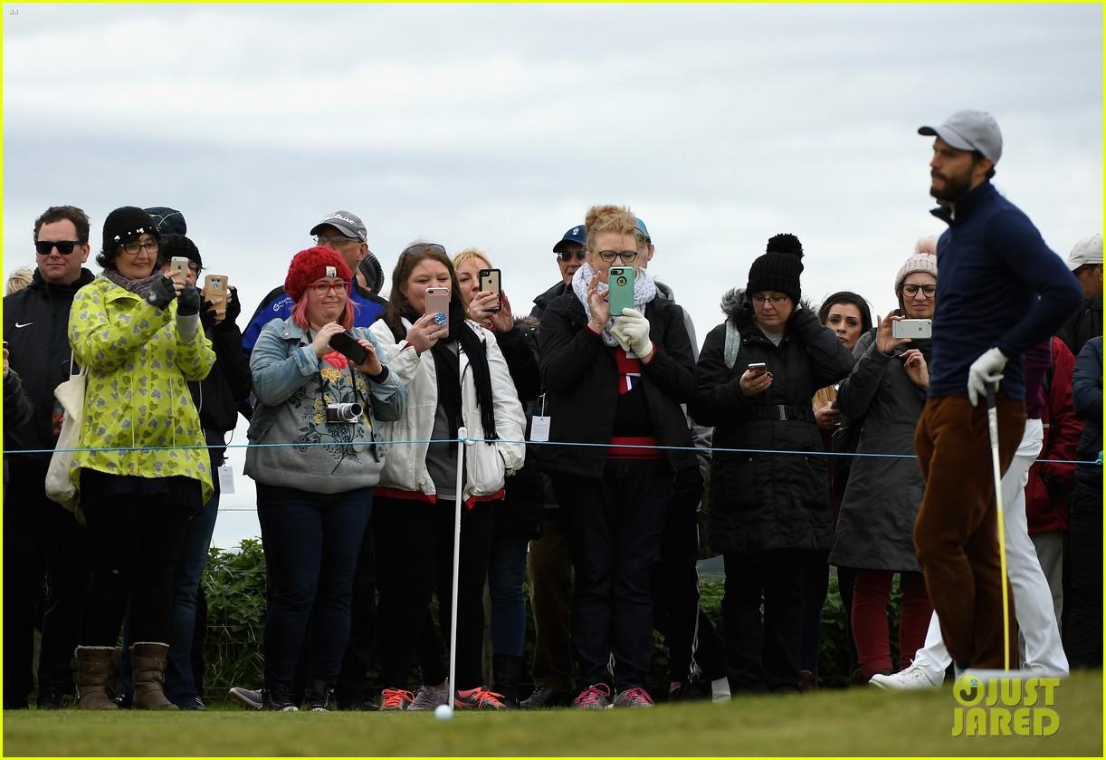 jamie dornan golfing scotland 283969636