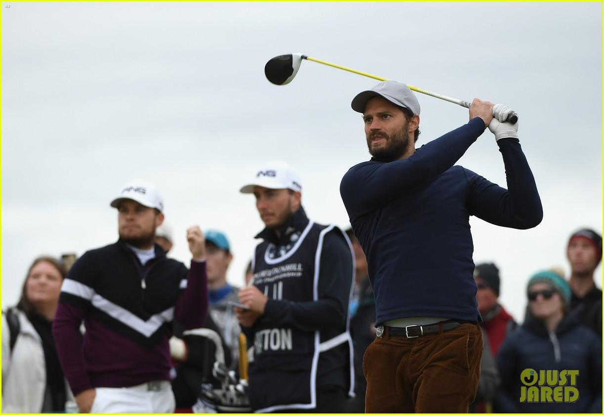 jamie dornan golfing scotland 303969638