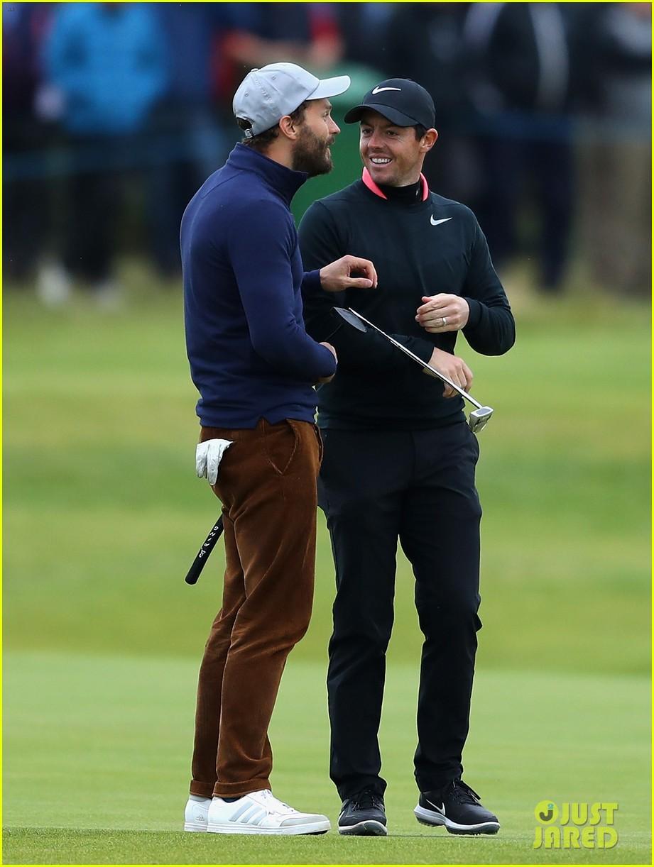 jamie dornan golfing scotland 323969640