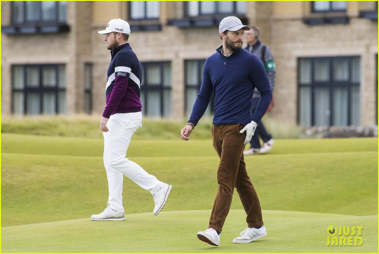 jamie dornan golfing scotland 453969653