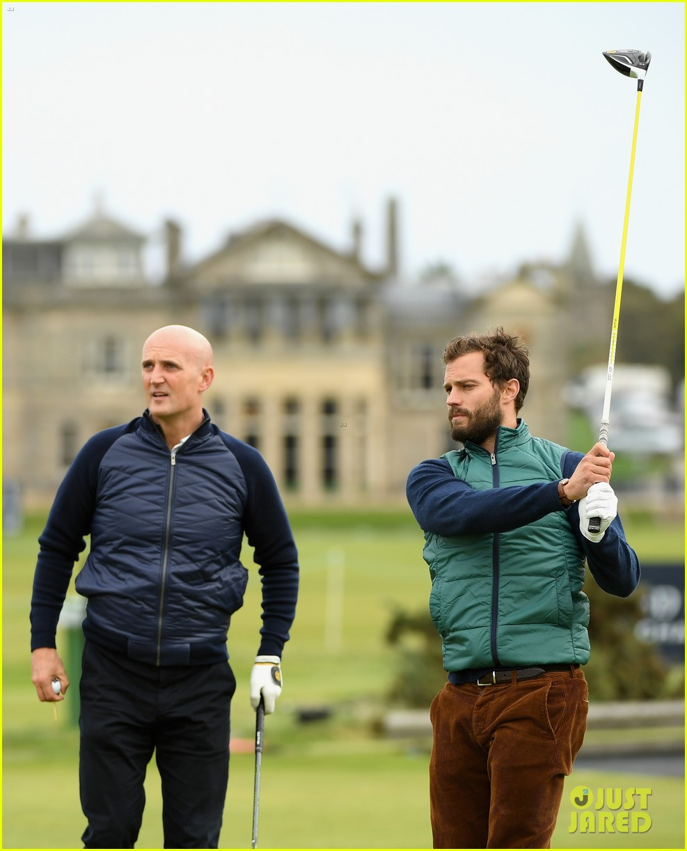 jamie dornan plays in alfred dunhill golf championship 063968657