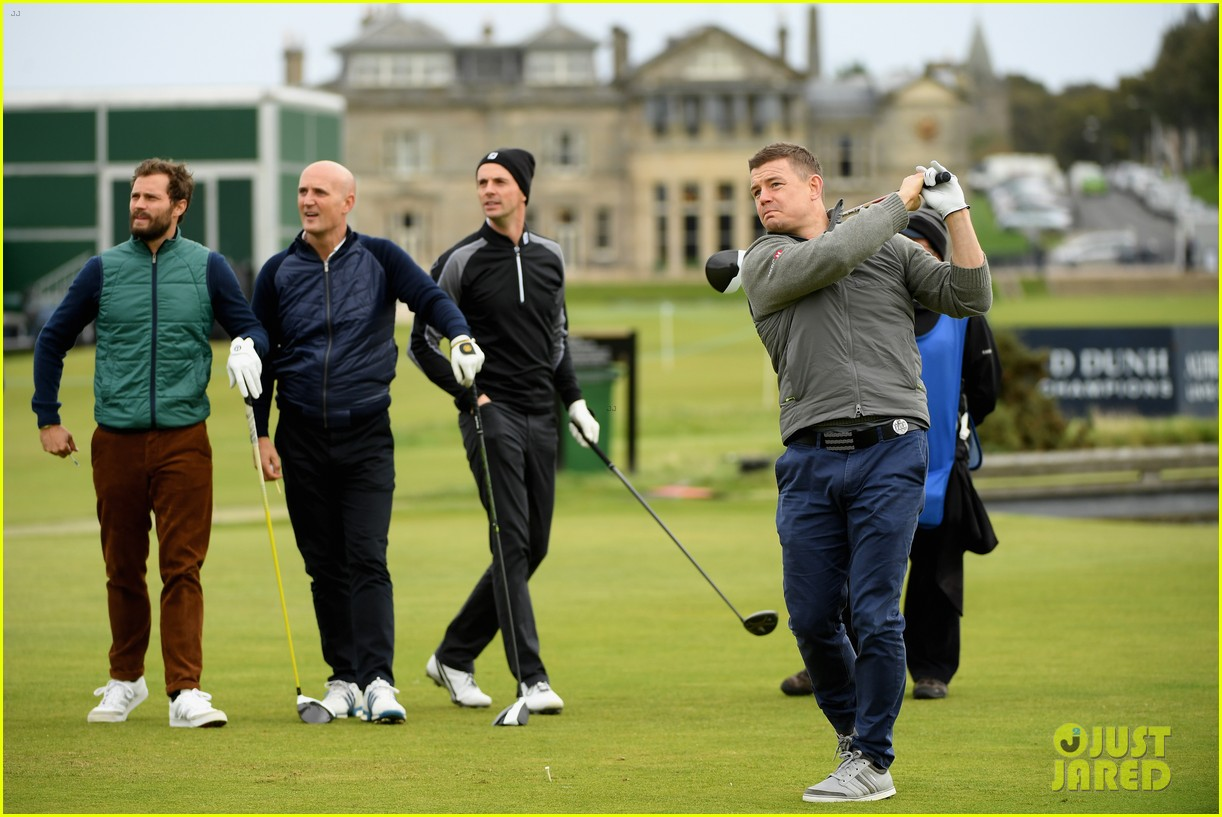 jamie dornan plays in alfred dunhill golf championship 073968658