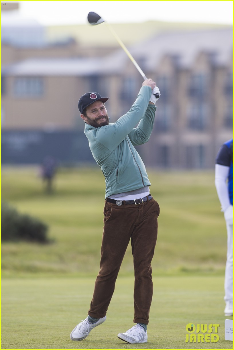 jamie dornan plays in alfred dunhill golf championship 133968664