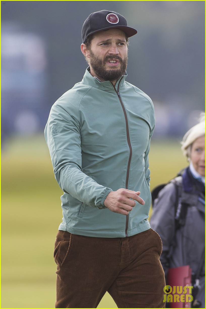 jamie dornan plays in alfred dunhill golf championship 143968665