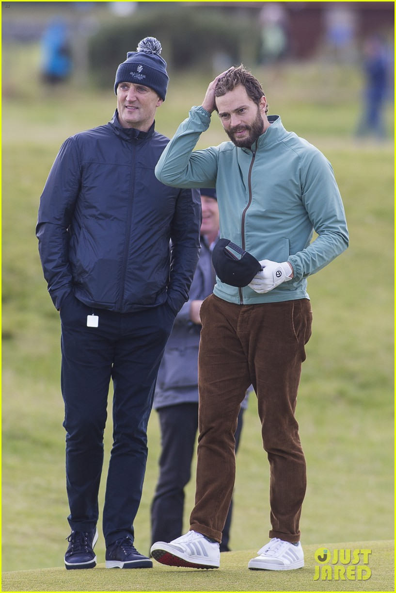 jamie dornan plays in alfred dunhill golf championship 163968667