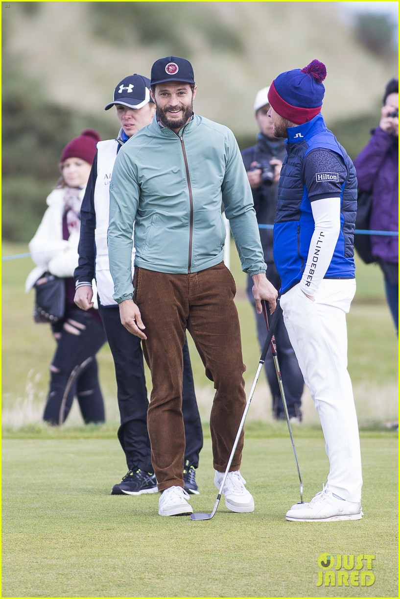 jamie dornan plays in alfred dunhill golf championship 183968669