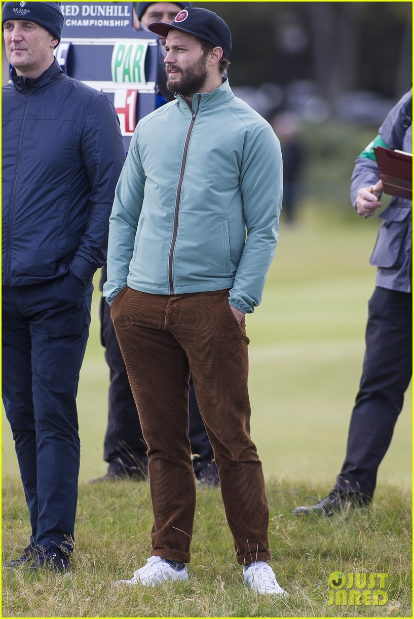 jamie dornan plays in alfred dunhill golf championship 193968670