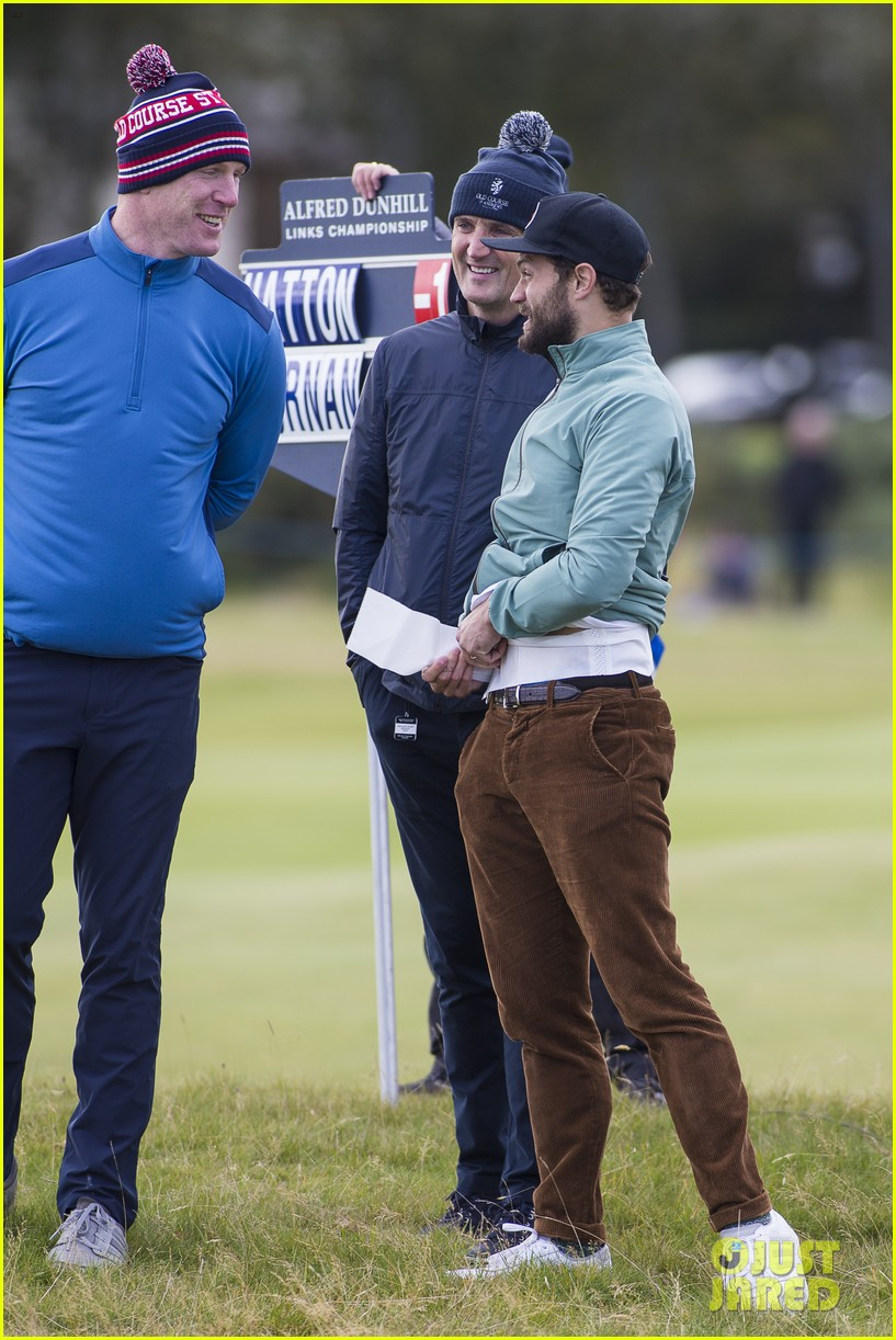 jamie dornan plays in alfred dunhill golf championship 233968674