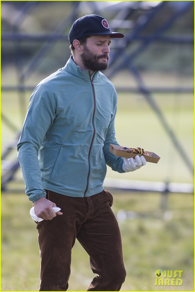 jamie dornan plays in alfred dunhill golf championship 253968676