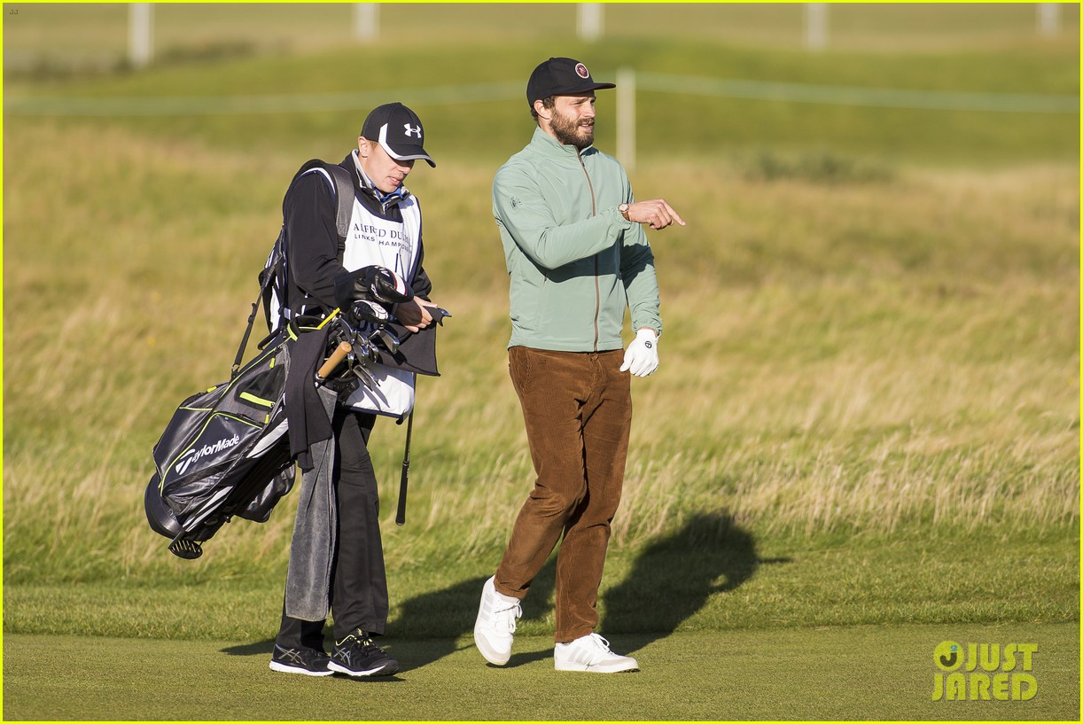 jamie dornan plays in alfred dunhill golf championship 263968677