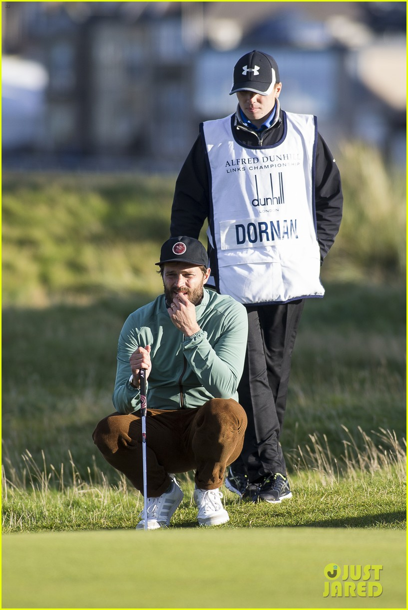 jamie dornan plays in alfred dunhill golf championship 273968678