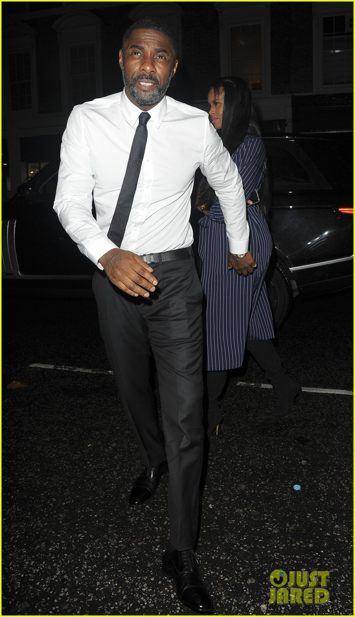 idris elba girlfriend sabrina dhowre couple up at day of the girl gala 043971394