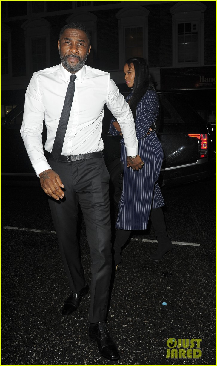 idris elba girlfriend sabrina dhowre couple up at day of the girl gala 083971398
