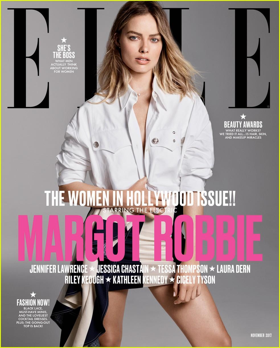 Margot Robbie, Tessa Thompson & Riley Keough Cover Elle's