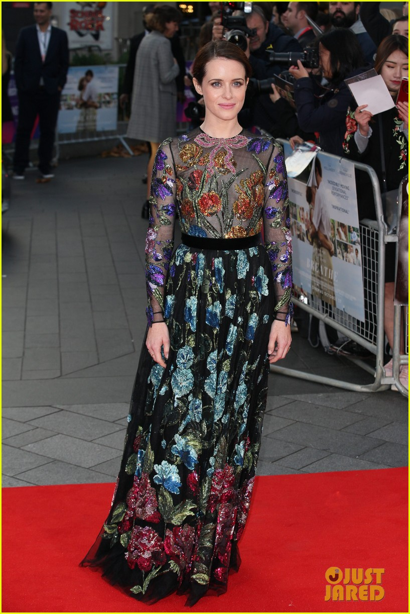 andrew garfield claire foy open bfi london film fest with breathe premiere 013968105