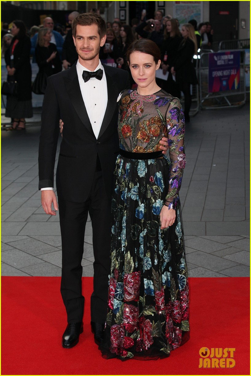 andrew garfield claire foy open bfi london film fest with breathe premiere 033968107