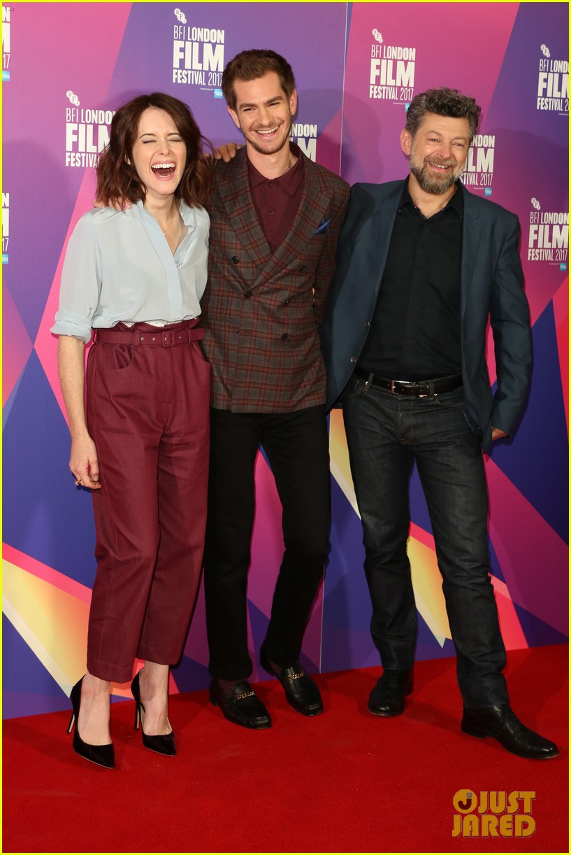 andrew garfield claire foy open bfi london film fest with breathe premiere 043968108