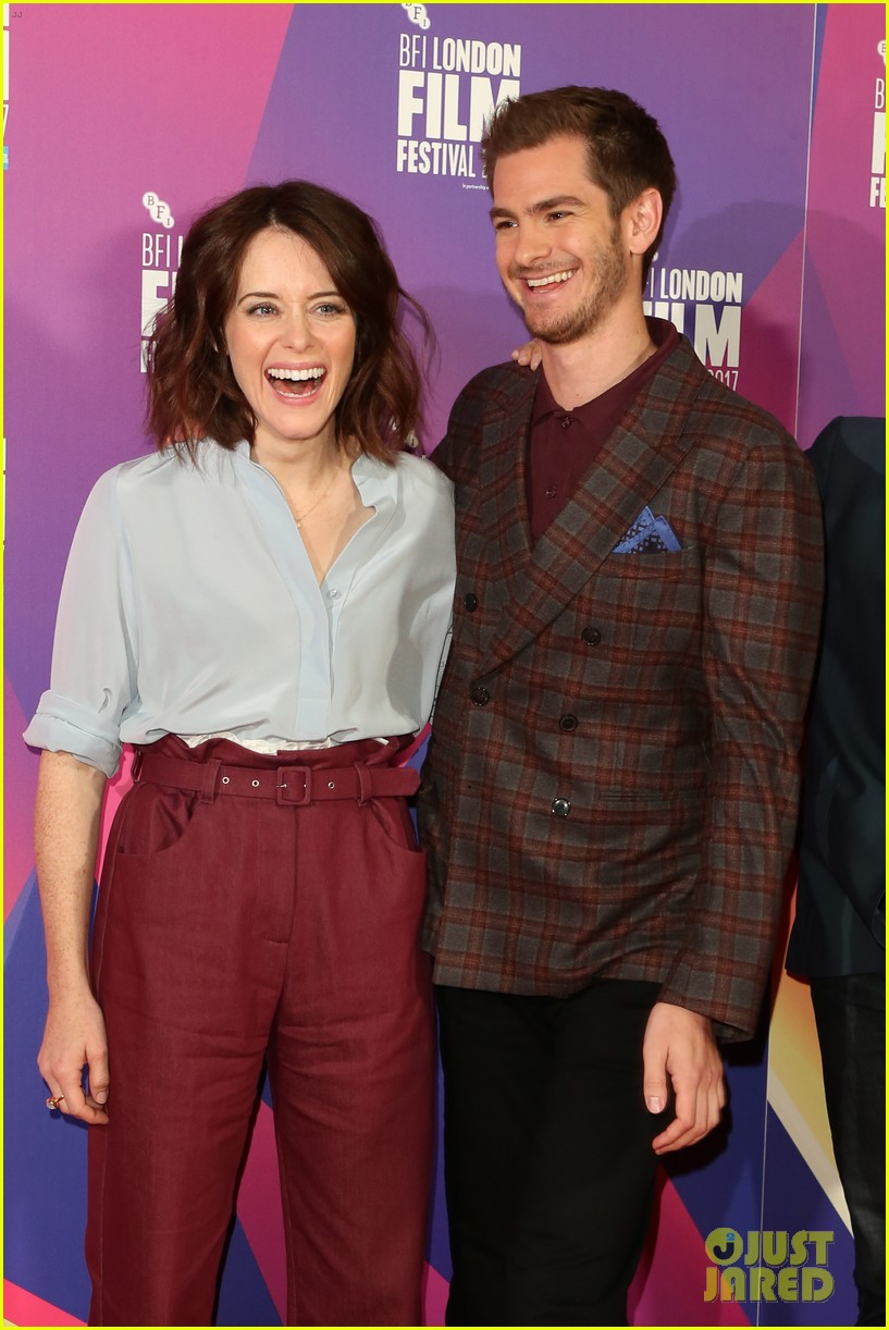 andrew garfield claire foy open bfi london film fest with breathe premiere 053968109