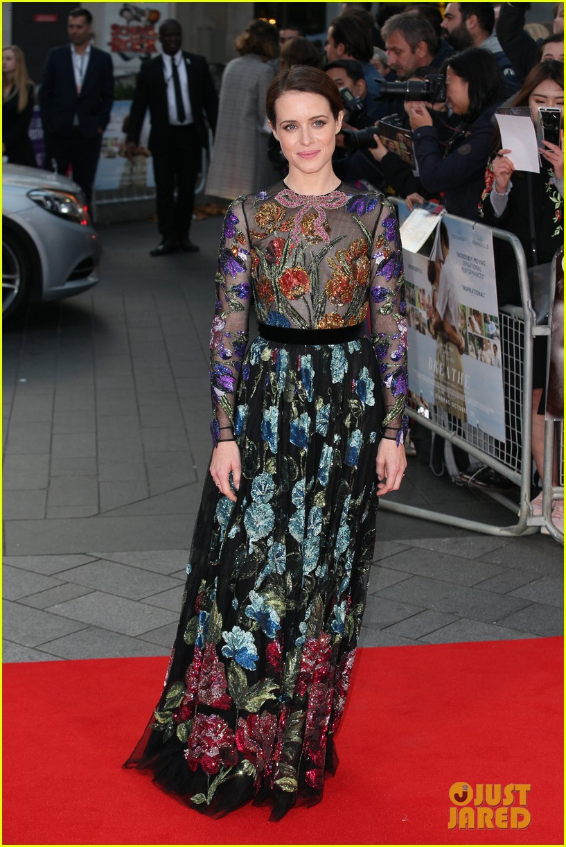 andrew garfield claire foy open bfi london film fest with breathe premiere 093968113