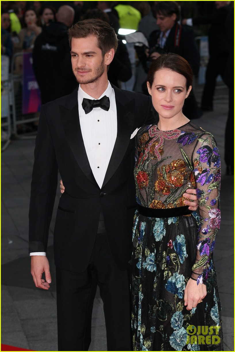 andrew garfield claire foy open bfi london film fest with breathe premiere 113968115