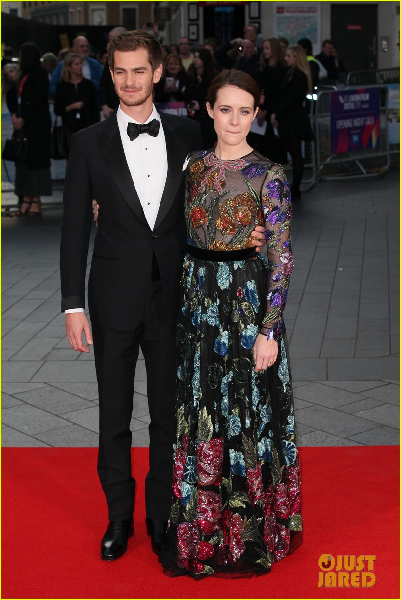 andrew garfield claire foy open bfi london film fest with breathe premiere 133968117