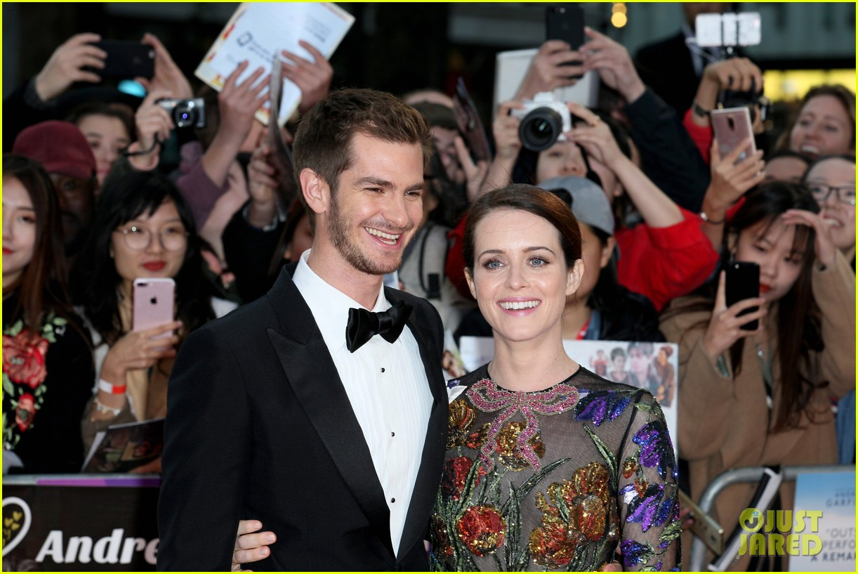 andrew garfield claire foy open bfi london film fest with breathe premiere 163968120