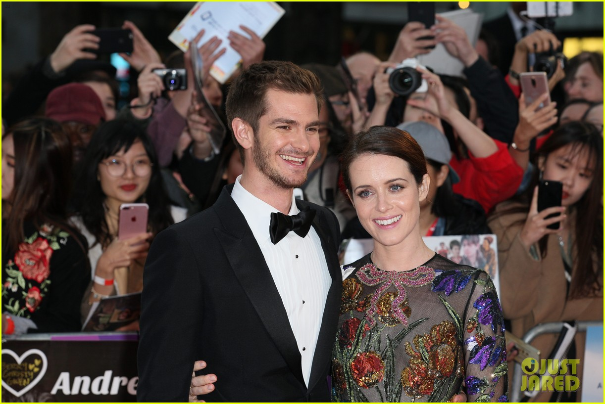 andrew garfield claire foy open bfi london film fest with breathe premiere 173968121