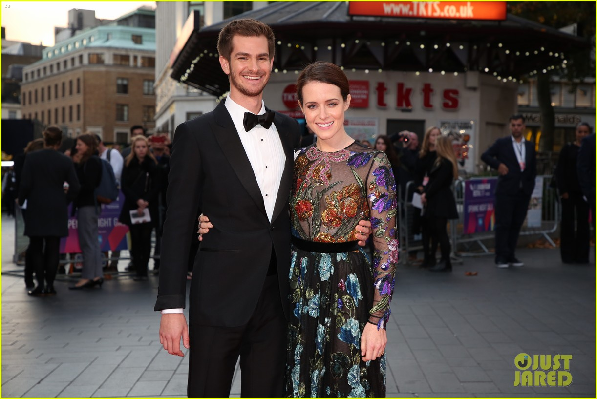 andrew garfield claire foy open bfi london film fest with breathe premiere 343968138
