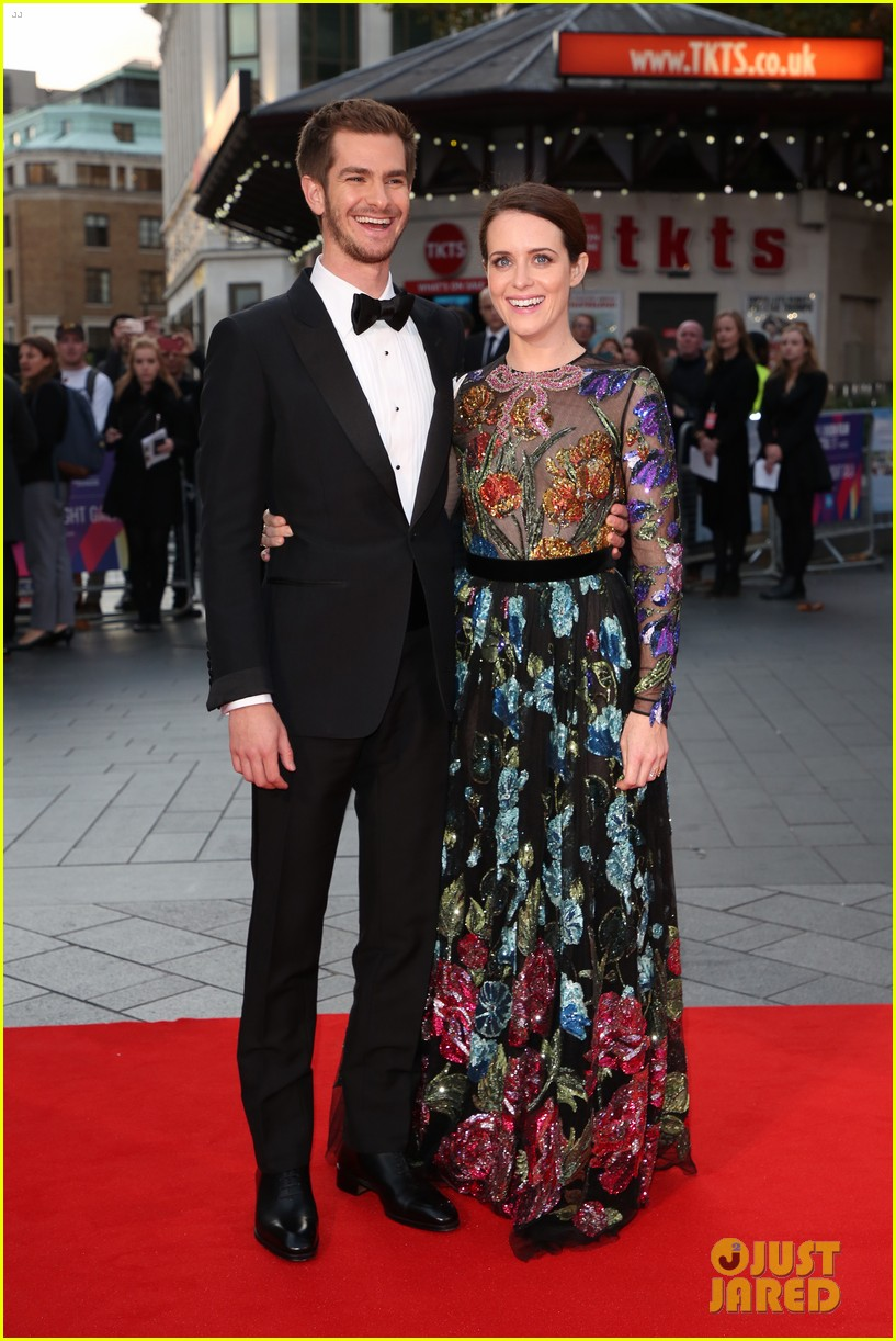 andrew garfield claire foy open bfi london film fest with breathe premiere 353968139