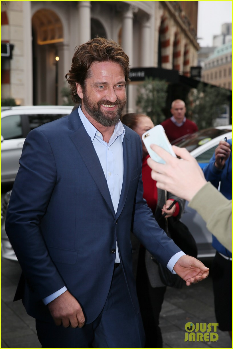 gerard butler capital radio london 123975089