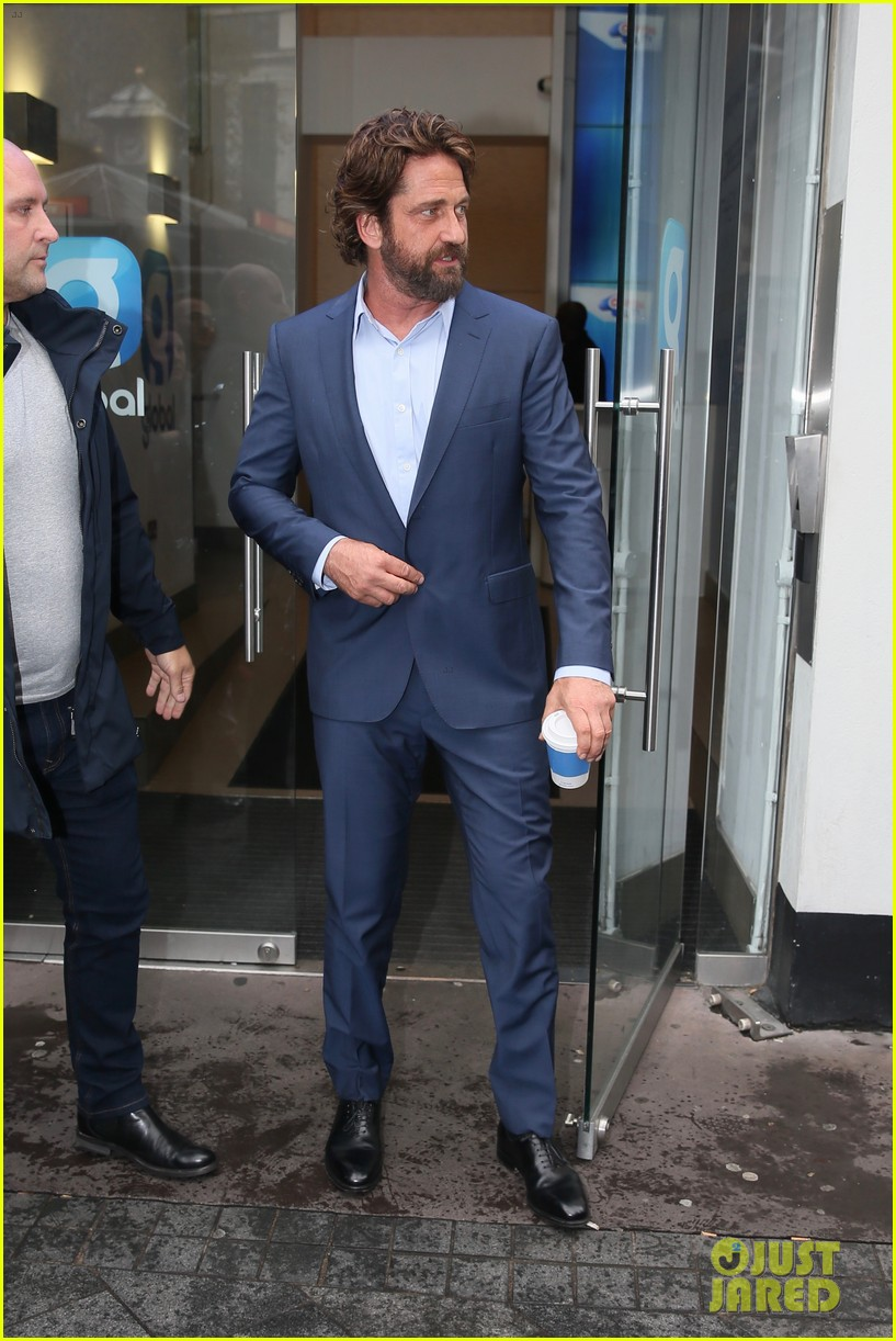 gerard butler capital radio london 173975094