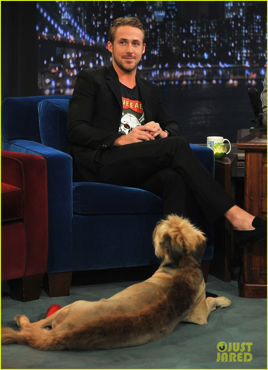 ryan gosling remembers his late dog george 053968838