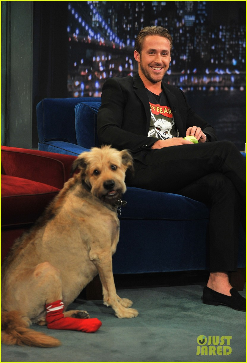 ryan gosling remembers his late dog george 093968842