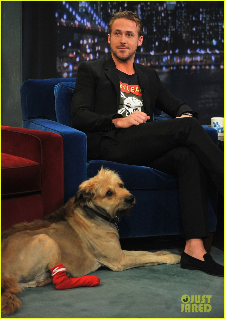 ryan gosling remembers his late dog george 103968843