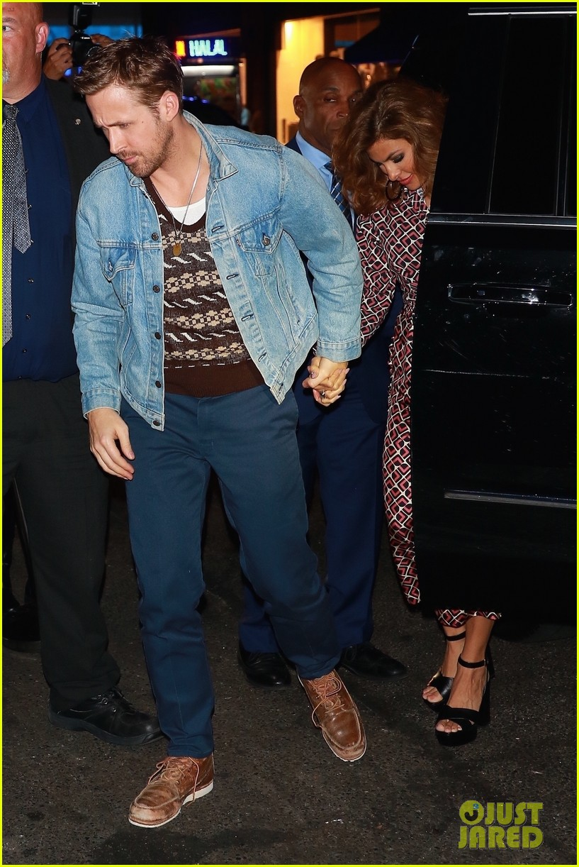 ryan gosling eva mendes rare appearance out 043966647