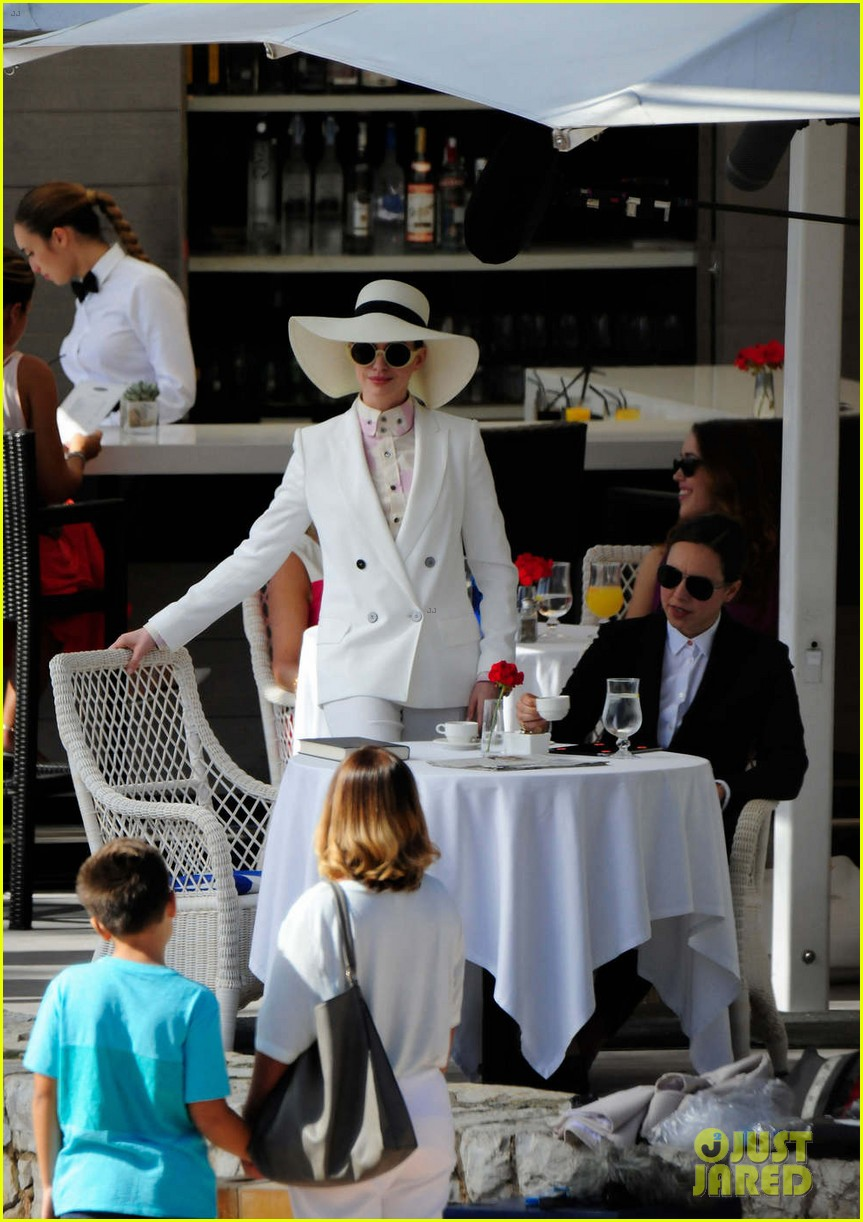 anne hathaway wears a white suit for nasty women scene 043977525