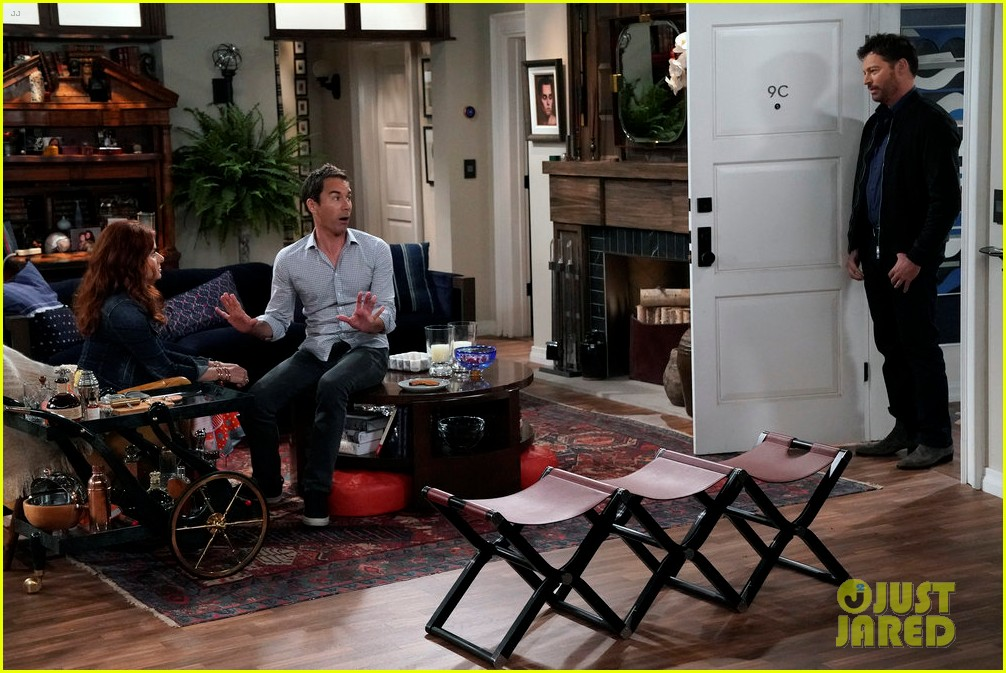 sean hayes eric mccormack try dating younger guys in new will grace episode whos your daddy 053966953