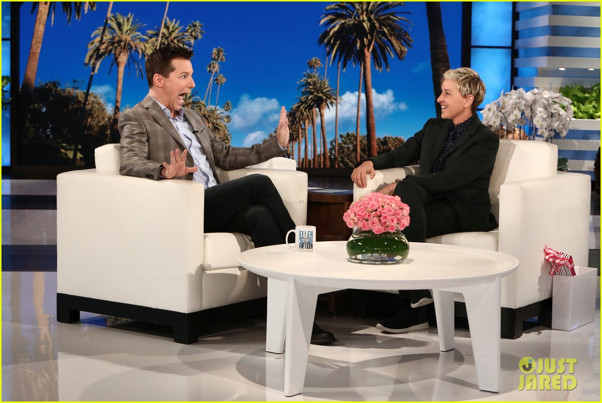 sean hayes reveals his health scare on ellen 043977633