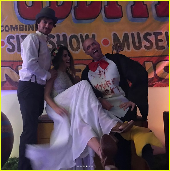 vanessa hudgens hosted a freak show halloween party 033979886