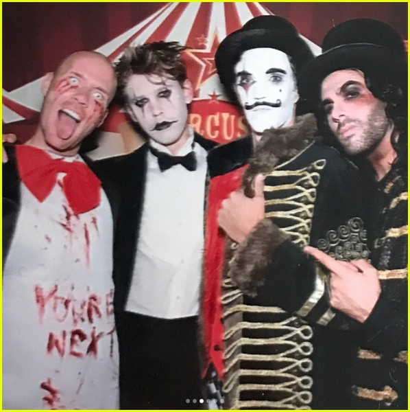 vanessa hudgens hosted a freak show halloween party 083979891