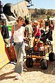jaime king takes birthday boy james knight pumpkin picking 08