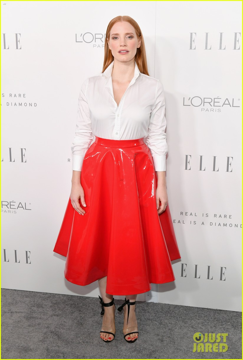 jessica chastain elle women in hollywood event 013973597