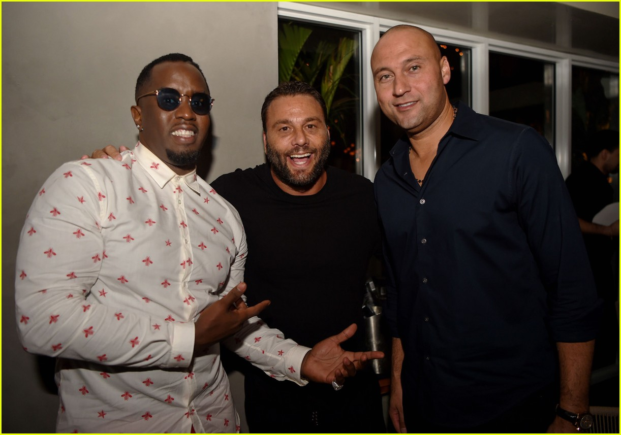 derek jeter welcomed to miami with star studded party hosted by diddy 04.3972139
