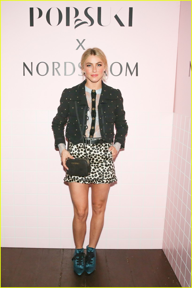 jaime king supports suki waterhouse and poppy jamie at pop and suki x nordstrom launch 033972146
