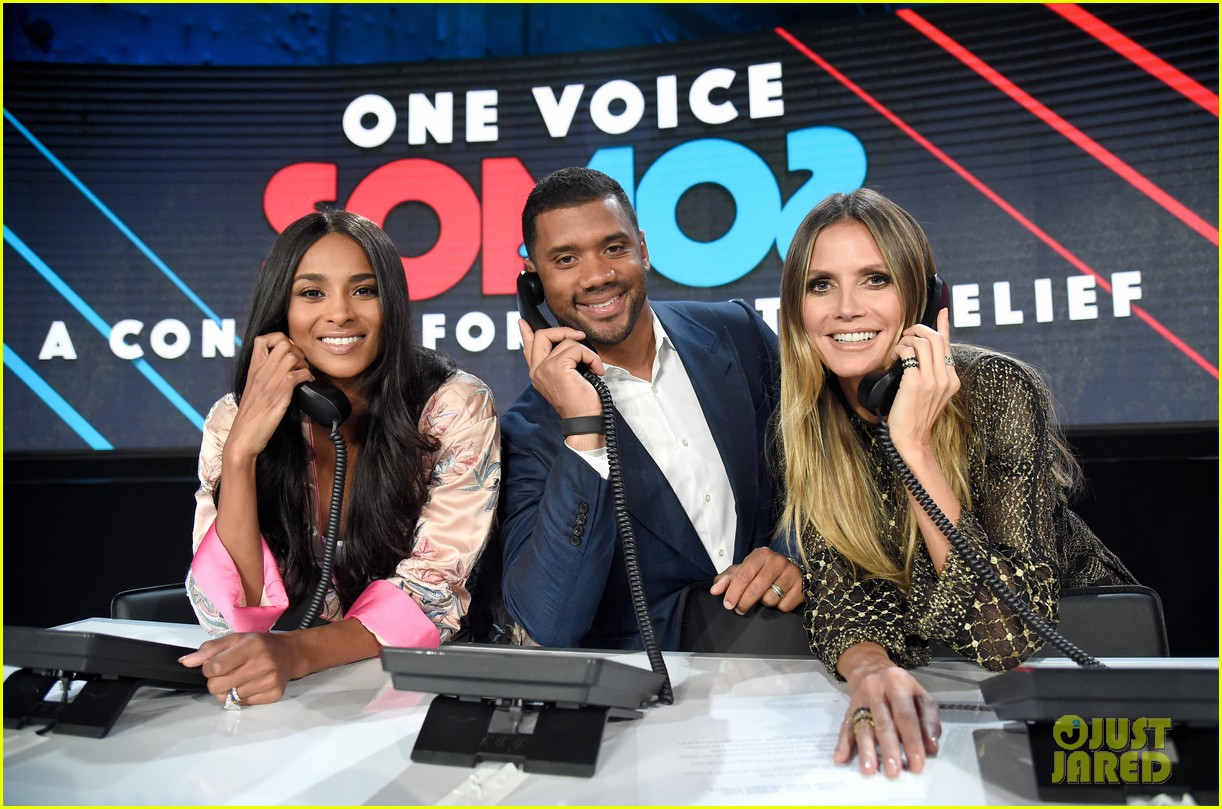 heidi klum teams up with ciara russell wilson for somos una voz telethon 013972667